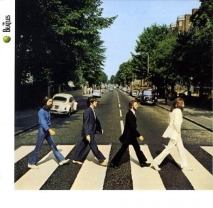 A capa do disco Abbey Road