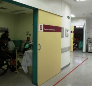 'Hospital do trânsito' atende 17 por hora