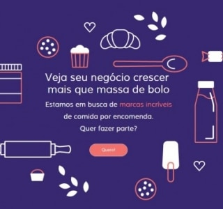 O mercado virtual de comida caseira